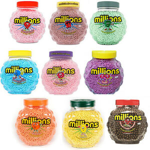 2 full tubs of 2 27kg millions sweets ideal cake decorations treats