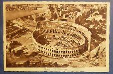 ROMA - VEDUTA AEREA - COLOSSEO - ANNI '30