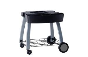 Ziegler & Brown Triple Grill Mobile Cart