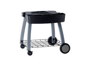 Ziegler-amp-Brown-Triple-Grill-Mobile-Cart