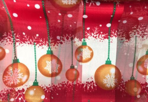 BEAUTIFUL LADIES SATIN STRIPE CHRISTMAS DECORATIONS BAUBLES SCARF LIGHTWEIGHT