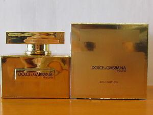 c08b05aa7a5b Dolce   Gabbana The One 2014 Edition Gold Perfume Women1.6.oz EDP ...