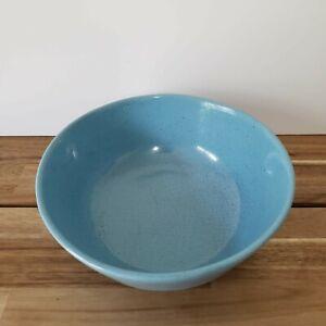 Frankoma-Pottery-Lazy-Bones-Blue-6N-Serving-Bowl-7-3-4-034
