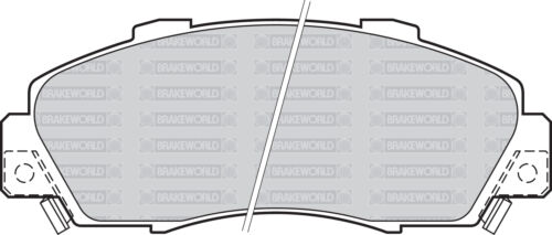4WD GH2 1999-04 OEM SPEC FRONT DISCS AND PADS 282mm FOR HONDA HR-V 1.6