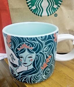 Details About New 12 Oz 2018 Starbucks Holiday Siren Mermaid Cup Sold Out
