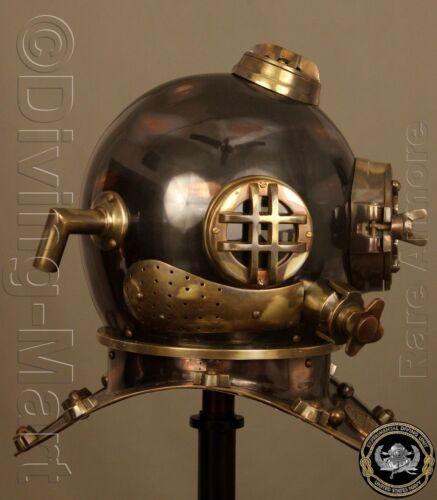 """Antique Scuba 18/"""" Diving Helmet U.S Navy Mark V Vintage Divers Helmet Replica"""