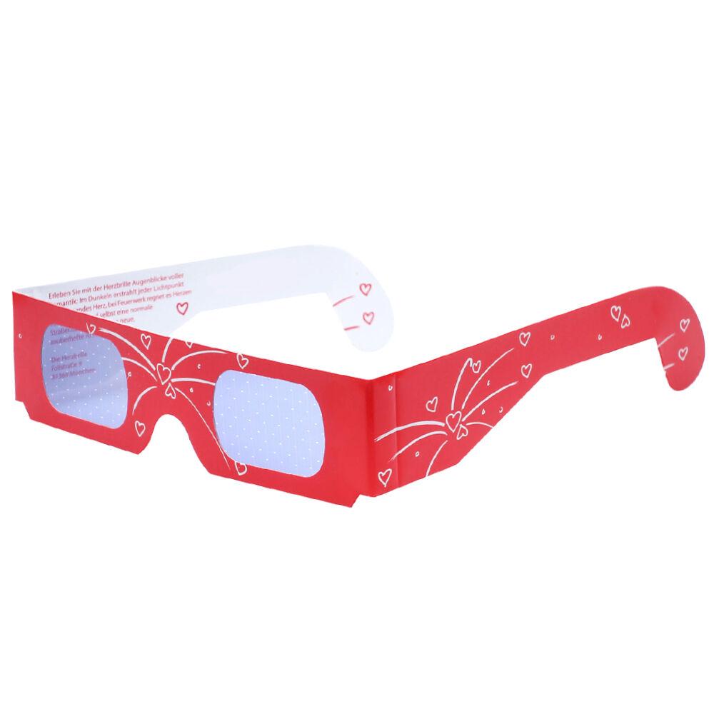 Herzbrille Feuerwerk 25 Stk Herzbrille Jeder Lichtpunkt wird ABENDS zum Herz | Qualität und Verbraucher an erster Stelle  | Online-verkauf