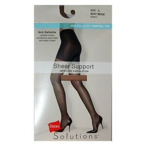 1 Pair TUMMY SMOOTHER Moderate Control SILKY Pantyhose *YOU CHOOSE* CURVATION*