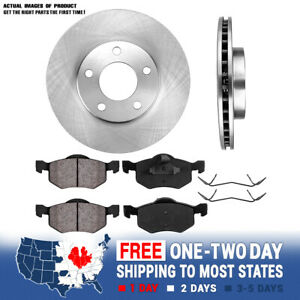 Front Rotors /& Ceramic Pads For 2005 2006 2007-2009 Mariner Ford Escape Tribute
