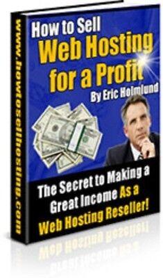 Money internet Web Hosting Websites Reseller,Ebook // Master resell license