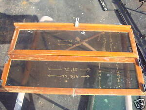 Details about Boat Marine Teak Wood Folding Enclosure Hatch Door