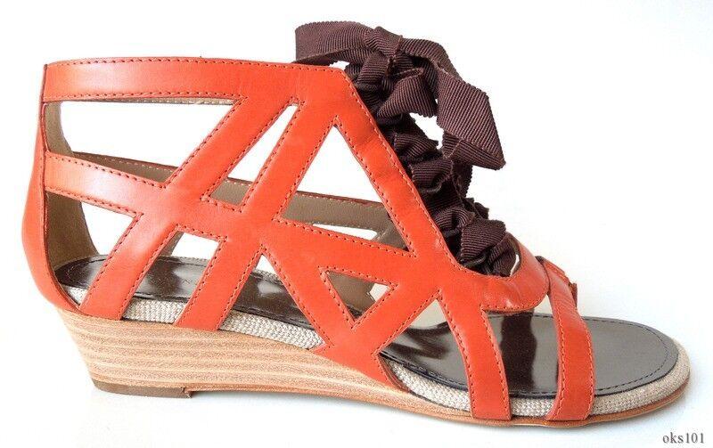 Nuevo  795 Proenza Schouler Cut-out Gladiador Flats zapatos 36.5 US 6.5 - increíble