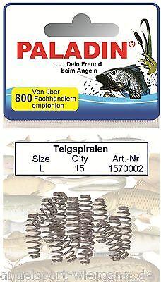 Teigspiralen für Forellenhaken Forellenteig verschiedene Größen