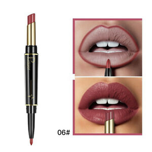 1X-Pudaier-Neue-Frauen-Doppelkopf-Lippenstift-Lip-Liner-Matte-Matte-Lippensti-6I