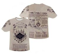 Harry Potter Inspired The Marauders Map T-shirt # A069