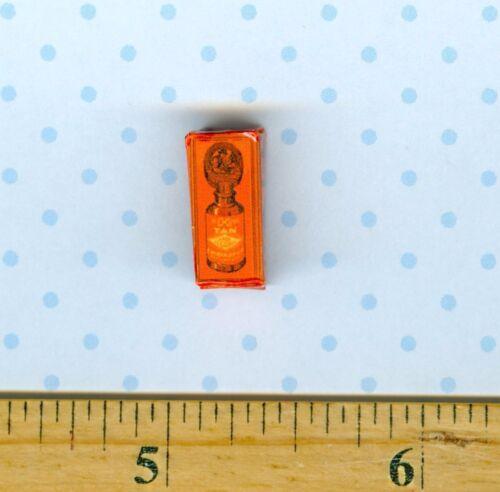 Dollhouse Miniature size Victorian  Bixby Shoe Polish box