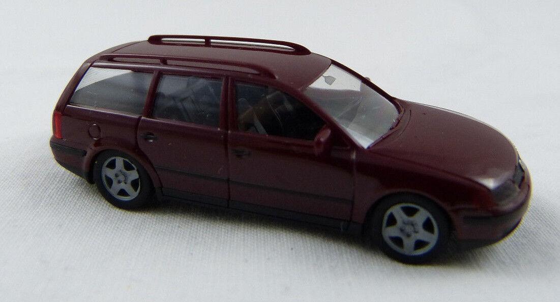 VW Passat neuf rouge foncé HERPA 1:87 h0 sans neuf Passat dans sa boîte [sp16] 6ba254