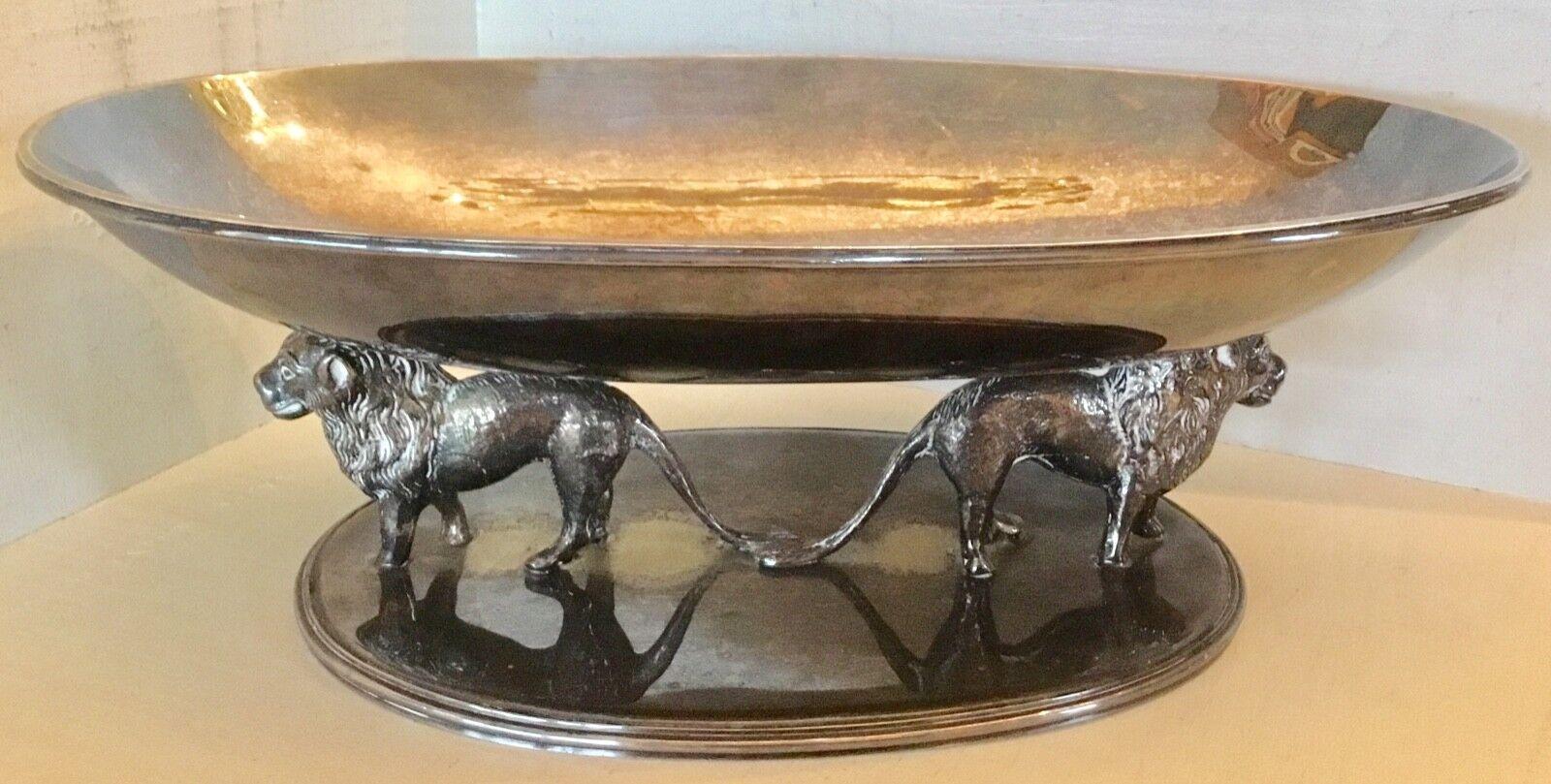 Italo VALENTI Unique high end quality table centerpiece milieu de table 1970's