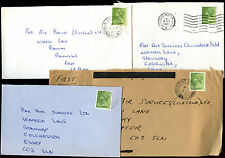 GB 1980 Field Post Office FPO Covers x 4 #C39916