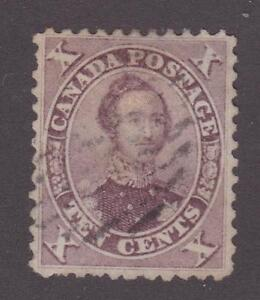 Canada-1859-17b-First-Cents-Issue-HRH-Prince-Albert-VF-Used