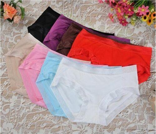 Women/'s comfortable low-waist briefs underwear knickers x Pack of 3