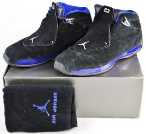 305869-041-Nike-Air-Jordan-XVII-Black-Sport-Royal-sz-10-5-17-in-Original-Box