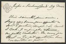 Pauline VIARDOT (Singer): Autograph Letter