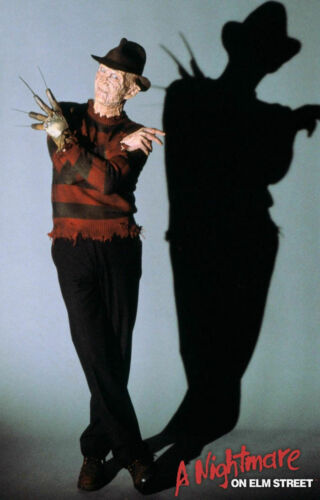 G032 A NIGHTMARE ON ELM STREET Movie Poster Freddy Krueger Friday 13th 24X36