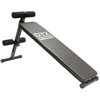 Dtx Fitness Sit Up Ab Bench Stomach/ab/abs Workout Folding Situp Board Home Gym