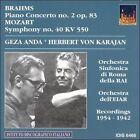 Brahms: Piano Concerto No. 2 Op. 83; Mozart: Symphony No. 40 KV 550 (CD, Oct-2005, IDIS)
