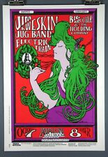 Jim Kweskin Jug Band, Big Brother & The Holding Company, Vintage Poster 1966
