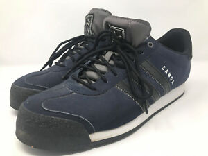 Original Adidas Samoa Blue Navy Black Men s Sneakers Shoes Size 10.5 ... 1d74030d2