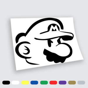 Adesivi Murali Super Mario.Dettagli Su Adesivi Murali Adesivo In Vinile Super Mario Wall Stickers Da Parete Auto 16
