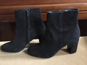 DUNE ladies suede smart ankle boots