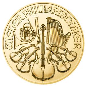 1/4 oz Gold Wiener Philharmoniker 2020 - 25 Euro Österreich Goldmünze 999,9