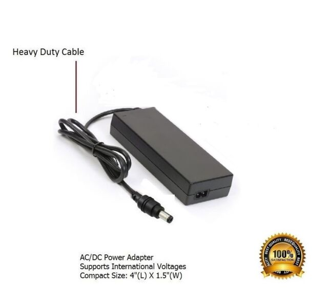 AC Power Supply Adapter for Kettler RE7 Ergometer Recumbent Exercise Cycle Bike