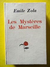 Emile Zola Marseille Typographie Bernouard 1928 reliure cartonnée éditeur