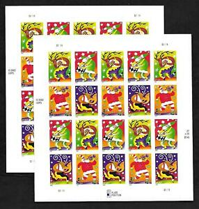 United States 37¢ Christmas Holiday Two (2) Sheets of 20 - 2003 - MNH