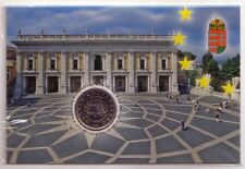 Ungheria Hungary 2007  50 fiorini Trattato di Roma in folder