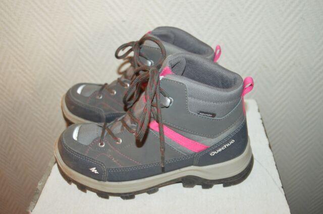 Chaussure Boots Randonnee Quechua Novadry Trekking T 35 Uk 4 Botas