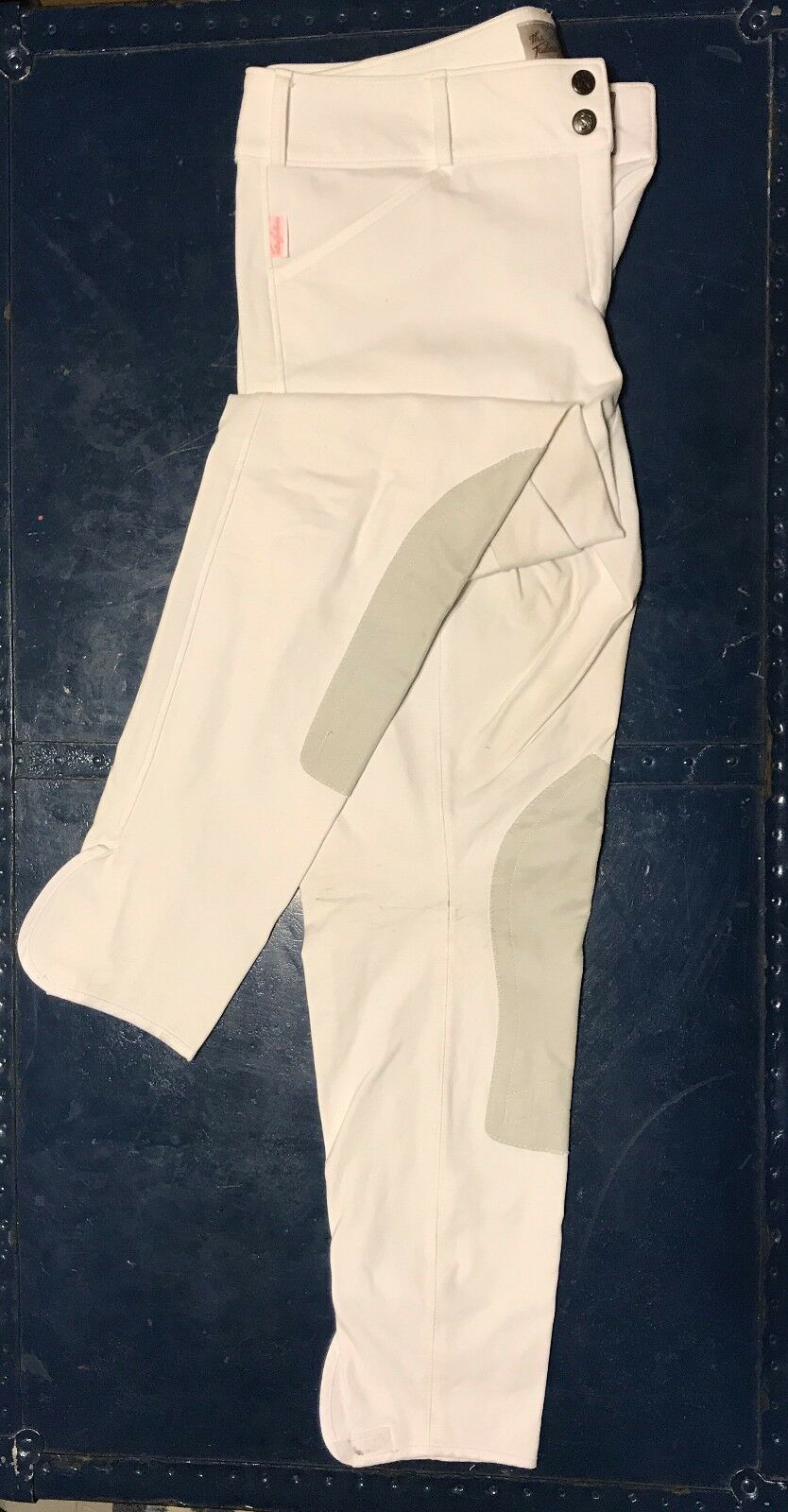 EUC Tailored Sportsman Low Rise Trophy Hunter (1967), 32L White Front Zip