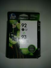 A New Genuine C9513FN OEM HP 92//93 Ink Combo Pack EXP 2020