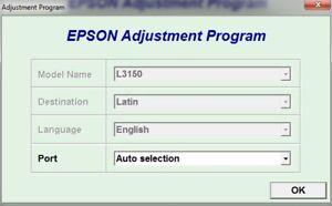Details about Reset Epson L3150