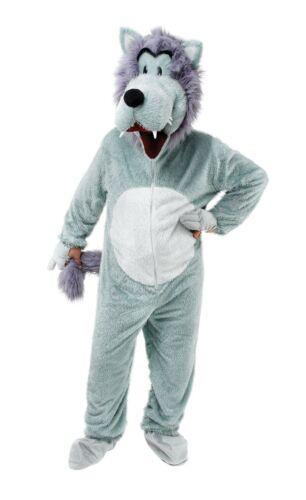Wolf Big Head Mascot Fancy Dress Costume