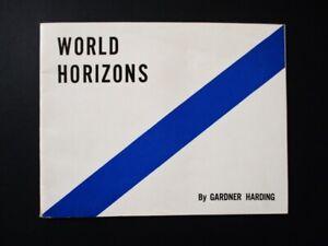 1939-NY-World-039-s-Fair-World-Horizons-Booklet-World-Trade-General-Motors
