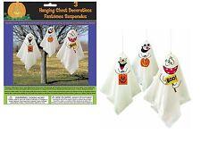 3 Halloween Fantasma Colgante Decoraciones Paquete de 3 globo de fiesta al aire libre de interior
