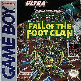 Teenage Mutant Ninja Turtles Fall Of The Foot Clan Nintendo Game Boy 1990 For Sale Online Ebay