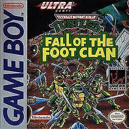Teenage Mutant Ninja Turtles Fall Of The Foot Clan Nintendo Game Boy 1990 For Sale Online Ebay