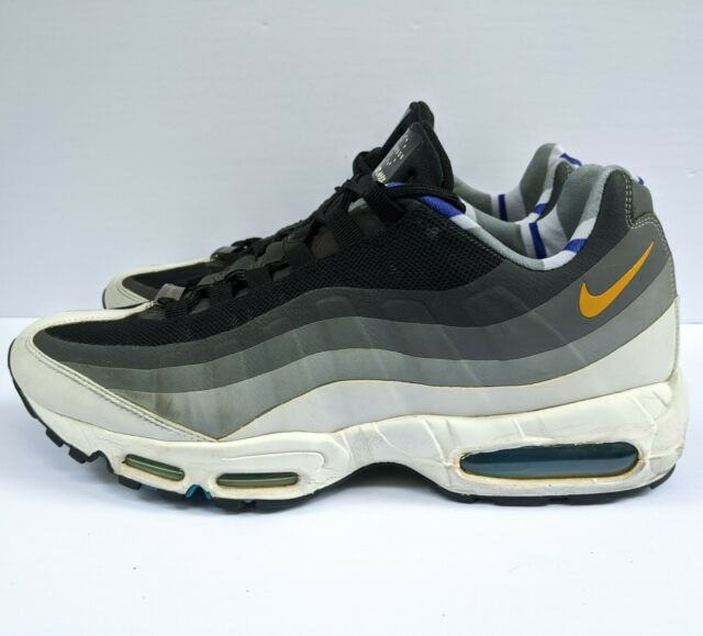 Nike Air Max 95 London QS Men's Size 12 Black Grey Gray 586361 070