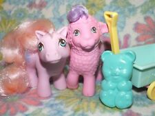 Mein kleines G1 My little Pony Baby Ponies Pretty PalsBaby Fleecy & Woolly